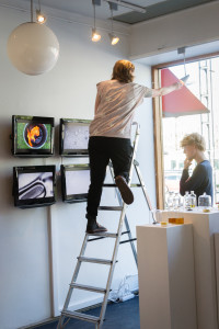 Mounting the exhibition